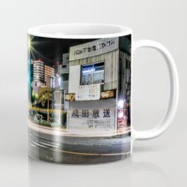 Narita light-trails Coffee Mug