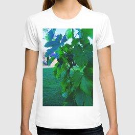 Grape Leaves Photography T-shirt
