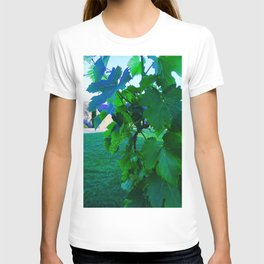 Grape Leaves Photography T-shirt