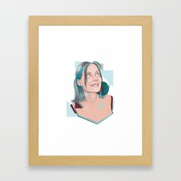 Lovely Lulu Framed Art Print