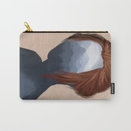 Mountain girl Carry-All Pouch