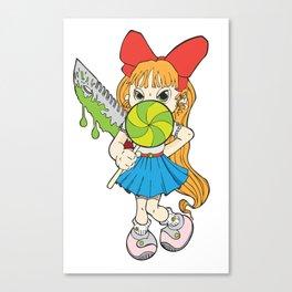 Lolipop Cuteness Canvas Print