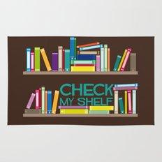 Check My Shelf Rug
