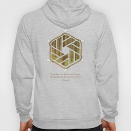 Forest & Axe — Illustrated Quote Hoody