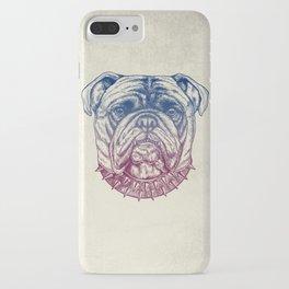 Gritty Bulldog iPhone Case