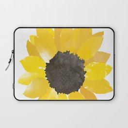 Watercolor Sunflower Laptop Sleeve