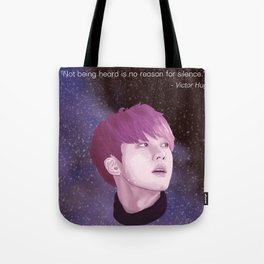 BTS Jin Galaxy drawing Tote Bag
