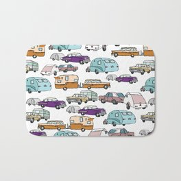 Cars and Campers Bath Mat