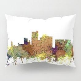 Lubbock, Texas Skyline - Safari Buff Pillow Sham