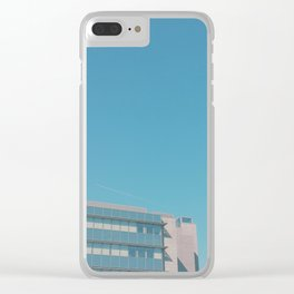 Summer in the City II Clear iPhone Case