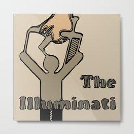 The Illuminati Metal Print