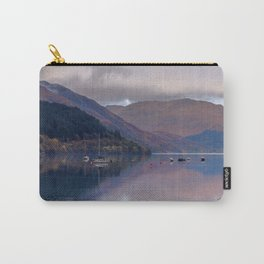 Argyll Scotland loch peaceful boats Carry-All Pouch