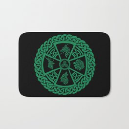 Celtic Nature 2 Bath Mat
