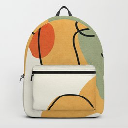Abstract Faces 19 Backpack