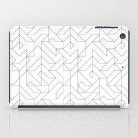 camo iPad Cases featuring Geometric Camo by INDUR
