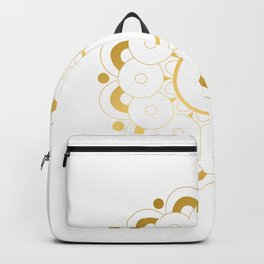 Modern minimalist art line Backpack