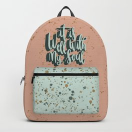 It is well with my soul Backpack