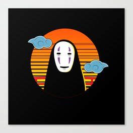 No Face a Lonely Spirit Canvas Print