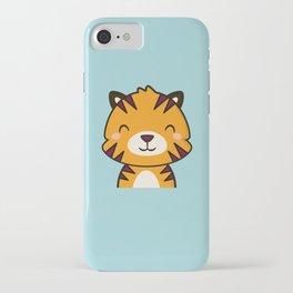Kawaii Cute Tiger iPhone Case