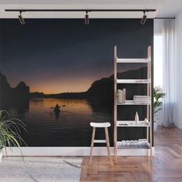 Sunrise Kayak Wall Mural