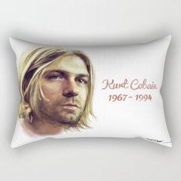 Cobain, Kurt Rectangular Pillow