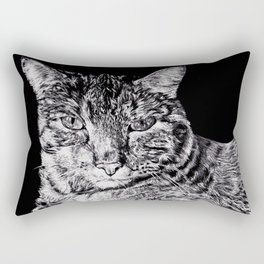 Chairman Meow Rectangular Pillow