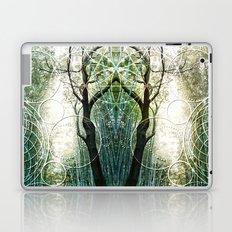 Bamboo Forest Geometry Laptop & iPad Skin