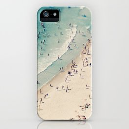 beach love V iPhone Case