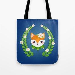 Summer Fox Tote Bag