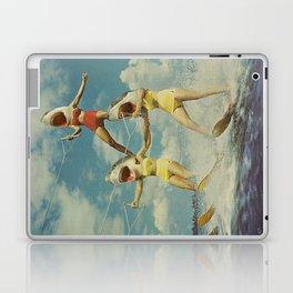 On Evil Beach Laptop & iPad Skin