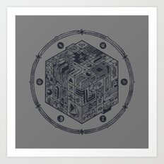 The Folly of Time and Space, Explained Art Print