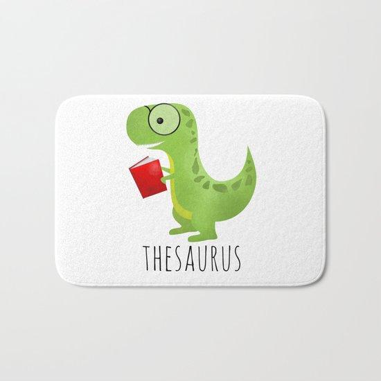 Thesaurus Bath Mat