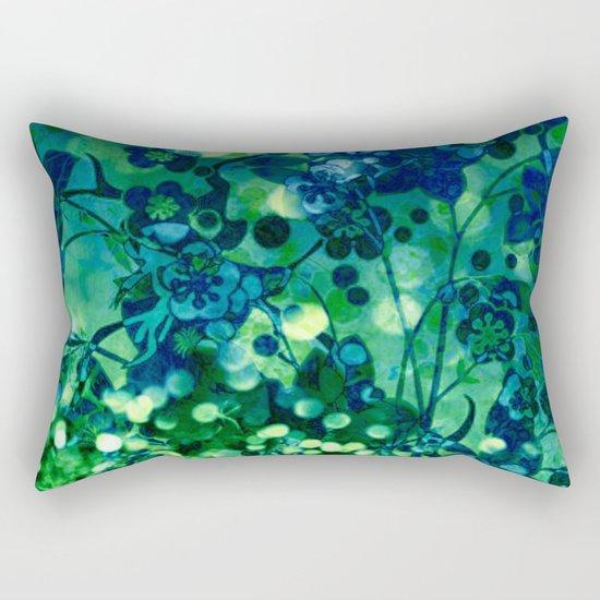 Bokeh floral Rectangular Pillow