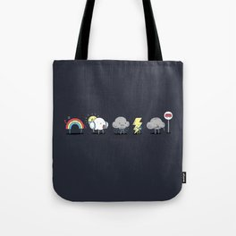 There's always rainbow after the rain Tote Bag