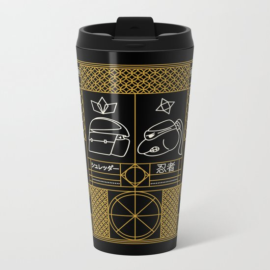 Manhattan Showdown  Metal Travel Mug