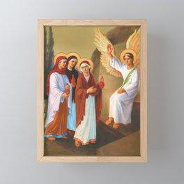 Easter - Myrrh Bearing Women Framed Mini Art Print