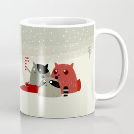 Guilty dudes in the snow Coffee Mug