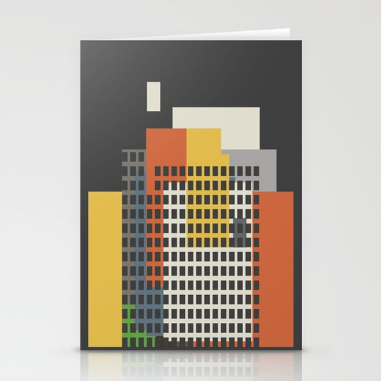 architecture and morality Stationery Cards