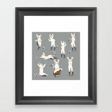 Thorodrin cat Framed Art Print
