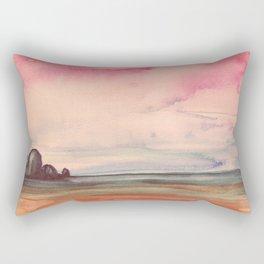 Melancholic Landscape Rectangular Pillow
