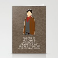 merlin Stationery Cards featuring Merlin by MacGuffin Designs
