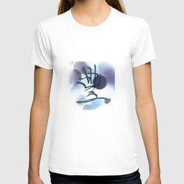 Blue Bubble Abstract Law of Attraction Symbol T-shirt