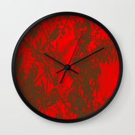 Fuego (Fire) Wall Clock
