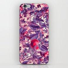 flowers 9 purple iPhone & iPod Skin
