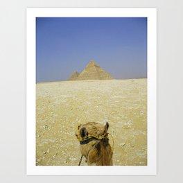 Pyramid View Art Print