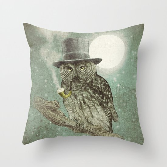 Throw Pillow Options : Night Smoke (Color Option) Throw Pillow by Eric Fan Society6