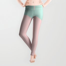 Boss Babe - Pink and Mint Lettered Leggings