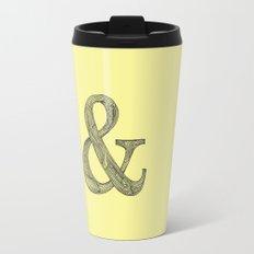 Yellow Ampersand Travel Mug