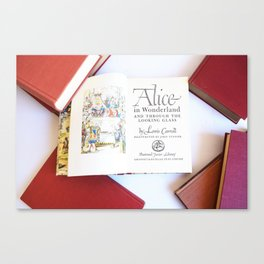 Alice in Wonderland 3 Canvas Print
