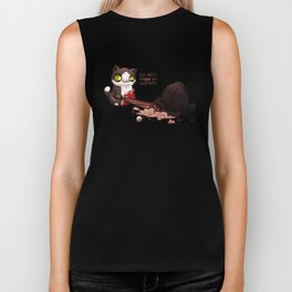 I can has spider Biker Tank